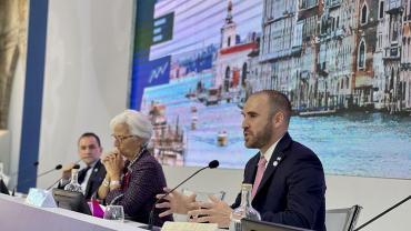 Martín Guzmán solicitó que se aplique un impuesto global de más de 15% a las multinacionales