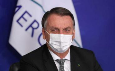 Jair Bolsonaro habló en redes de su internación y dijo que es