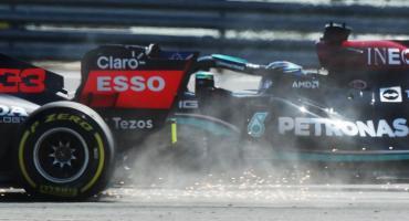 Polémica en la Fórmula 1: el fuerte accidente entre Hamilton y Verstappen