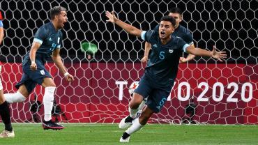 La Selección argentina Sub 23 le ganó a Egipto y tiene un respiro en los Juegos Olímpicos