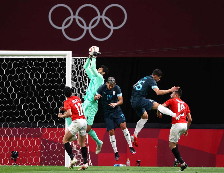 Argentina Vs. Egipto, Fútbol, Tokio 2020, Reuters