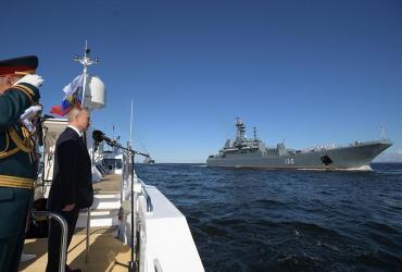 """Alerta mundial por amenaza de Putin: """"La Armada rusa puede dar un golpe militar a cualquier adversario"""""""