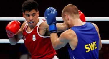 El boxeo argentino tuvo un triunfo de Verón en Tokio 2020