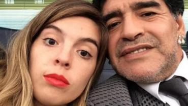 Dalma Maradona recordó a Diego en sus redes sociales: