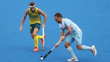 Los Leones perdieron 5 a 2 con Australia en su tercera presentación en los JJOO