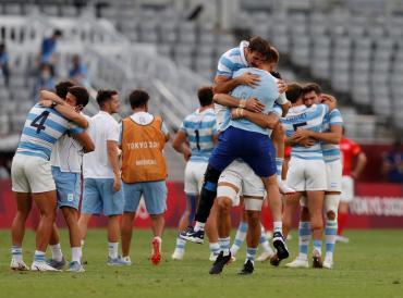 La emoción de Los Pumas tras lograr el bronce: