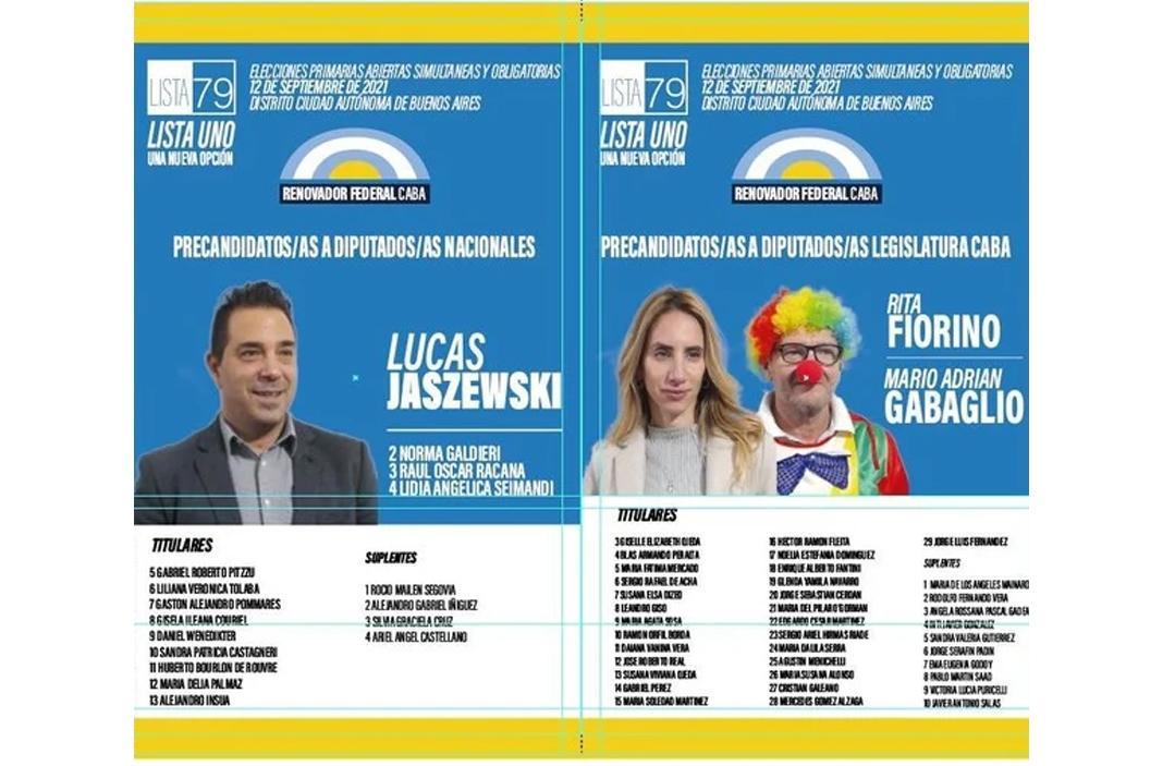 Marulito, payaso precandidato a legislador en Ciudad de Buenos Aires