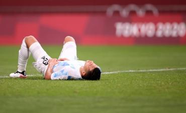 Nueva decepción en el fútbol olímpico: Argentina empató con España y quedó eliminada en fase de grupos