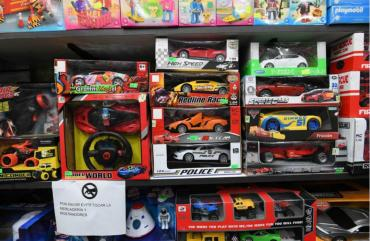 Las ventas de juguetes suben a niveles