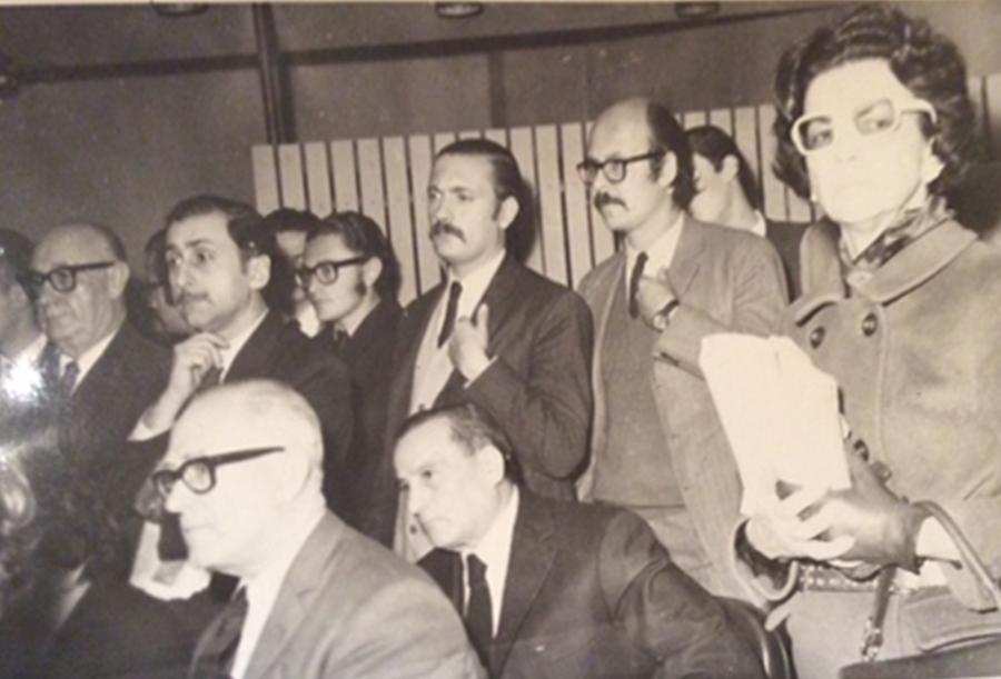 Eduardo Luis Duhalde y Rodolfo Ortega Peña
