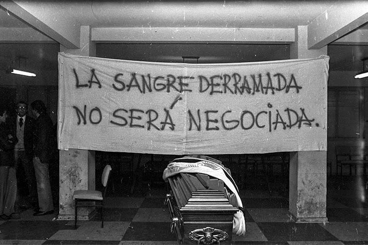 Ortega Peña fue velado en la Federación Gráfica Bonaerense