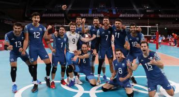 ¡Argentina olímpica en Voley!: tremenda victoria sobre EE.UU.