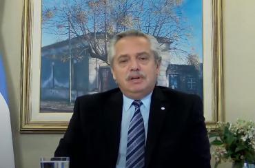 Alberto Fernández, en relanzamiento oficial del Plan