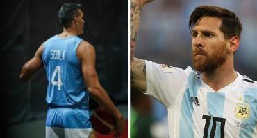 Lionel Messi le envió un afectuoso mensaje a Luis Scola por su último partido