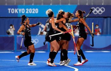 ¡Las Leonas, gigantes! Dieron vuelta el partido ante India y volverán a jugar una final olímpica ante Países Bajos