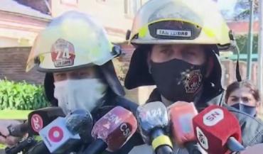 Otro incendio fatal: se prendió fuego una casa en San Isidro y murió una mujer de 80 años