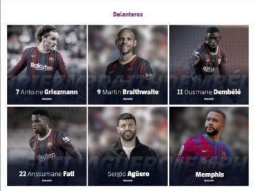 Barcelona borró a Lionel Messi de su página oficial