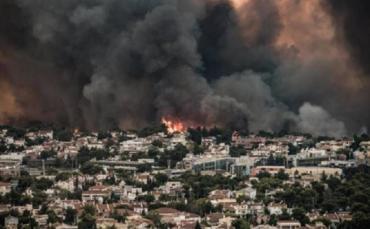 Grecia vive una crisis ecológica