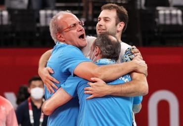 Marcelo Méndez, DT de la Selección de voleibol: