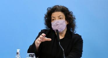 Carla Vizzotti afirmó que no darán las terceras dosis durante 2021 y habló del avance de la variante Delta en el país