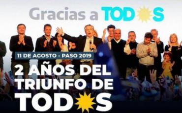 """Filosa respuesta de La Cámpora a posteo del Partido Justicialista por el """"olvido"""" de Cristina Kirchner"""