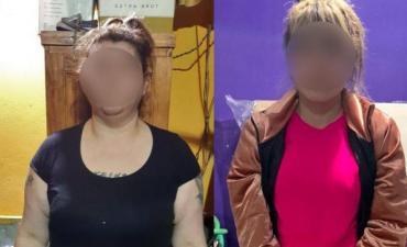 Detuvieron a dos mujeres acusadas de vender drogas: una de ellas estaba con prisión domiciliaria por la pandemia