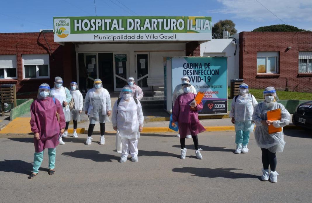 Hospital Illia, Villa Gesell, coronavirus en Argentina, NA