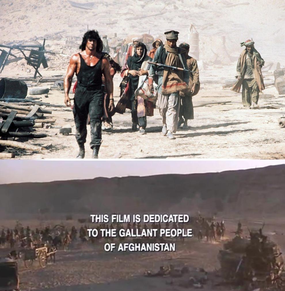 Estados Unidos, talibanes, Afganistán, Rambo III