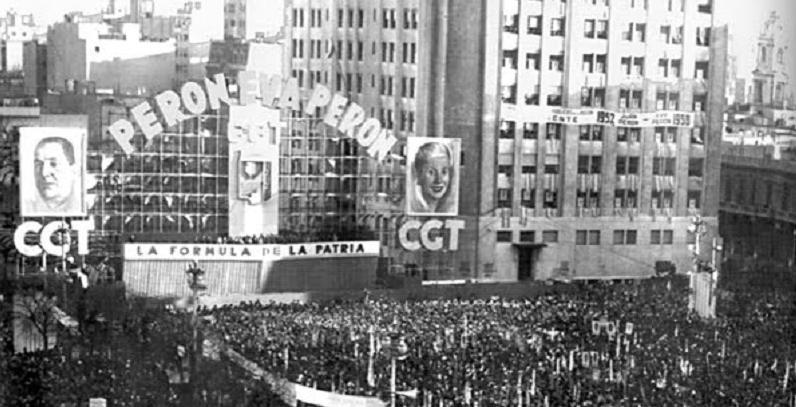 Acto del 22 de agosto de 1951, peronismo