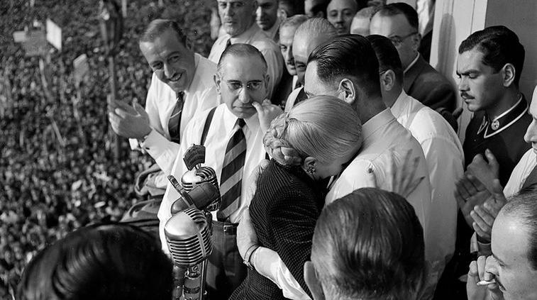 Último 17 de octubre de Eva Perón en 1951
