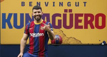 Es oficial: Agüero fue inscripto en Barcelona tras la rebaja salarial de Sergio Busquets y Jordi Alba