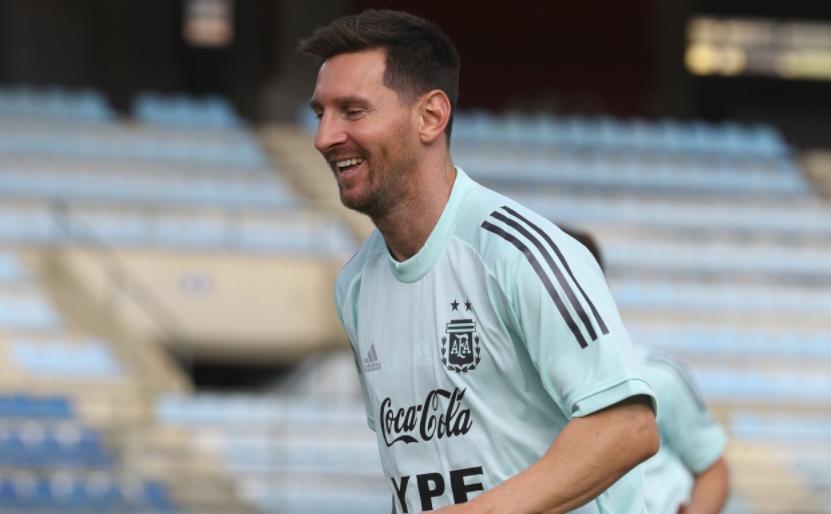 Lionel Messi, Selección Argentina, NA