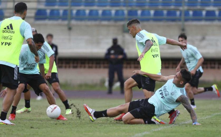 Selección Argentina, entrenamientos, NA