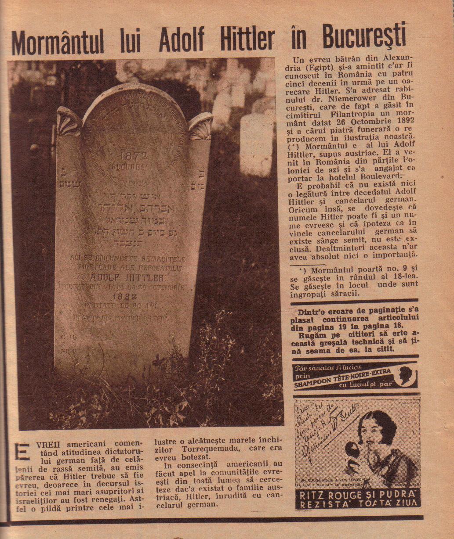 La tumba de Adolf Hittler