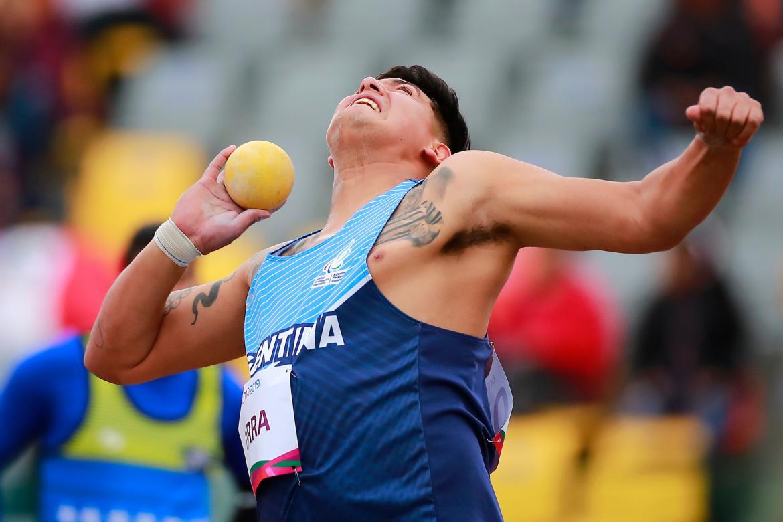 El rionegrino Hernan Urra se consagró Subcampeón Paralímpico en Lanzamiento de Bala, NA