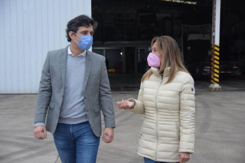 En el marco del Día de la Industria, Dulce Granados visitó la empresa