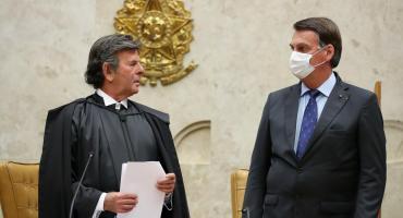 """El presidente de la Corte de Brasil advirtió a Bolsonaro: """"La desobediencia judicial es atentar contra la democracia"""