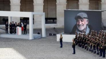 Francia despidió a Jean-Paul Belmondo: emotivo homenaje con la música de