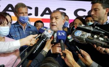 Luis Juez celebró su triunfo con mensaje para Macri: