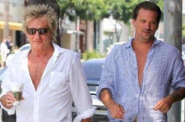 Escándalo con Rod Stewart y su hijo: zafan de ir a juicio en Florida por pelea en fiesta privada