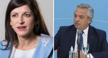 """Nuevo audio de Fernanda Vallejos contra Alberto Fernández: """"Cero autocrítica y la gente eso lo percibe"""