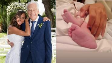 ¡Bienvenido Emilio! Alberto Cormillot fue papá por tercera vez a los 83 años