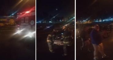 Tragedia en Panamericana: choque múltiple deja dos muertos y heridos graves