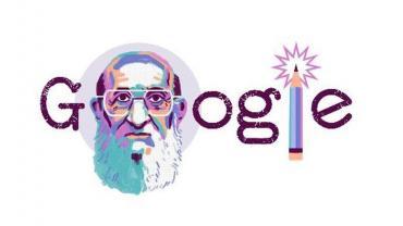 Google homenajeó con un Doodle a Paulo Freire en el aniversario de su nacimiento