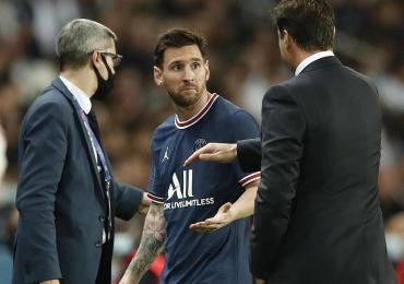 ¿Estalló el escándalo?: PSG le ganó sufriendo por 2 a 1 al Olympique de Lyon y Pochettino sacó a Messi