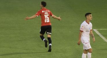 Independiente le ganó por 1 a 0 a Huracán en el Ducó y sigue prendido en La Liga