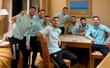 La intimidad de los campeones: Messi compartió fotos inéditas de la Selección durante la Copa América