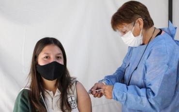 La Ciudad de Buenos Aires  abre el padrón de vacunación para los chicos de entre 12 y 17 años