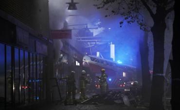 Tensión en Suecia: más de 20 heridos por fuerte explosión en un edificio de Gotemburgo