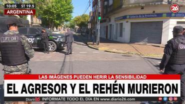 Trágica toma de rehenes en Caseros: murieron  el agresor y el rehén en confusas circunstancias